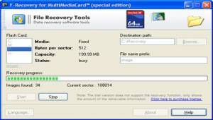 F-Recovery for MultiMediaCard