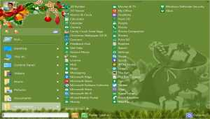 Start Menu X Christmas theme