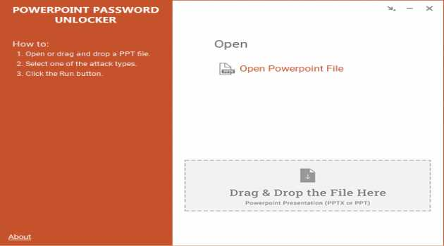 Free PowerPoint Password Unlocker