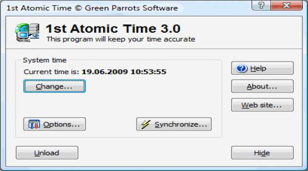 1st Atomic Time