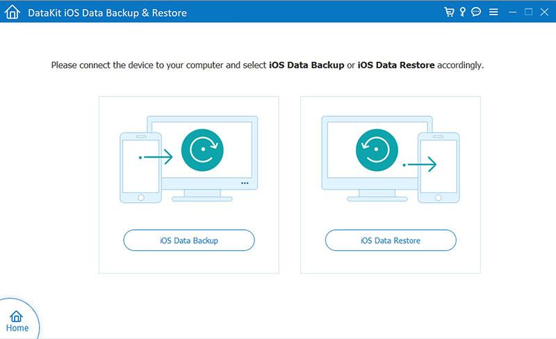 DataKit Mac iOS Data Backup Restore