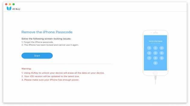 Tenorshare iPhone Password Unlocker Mac