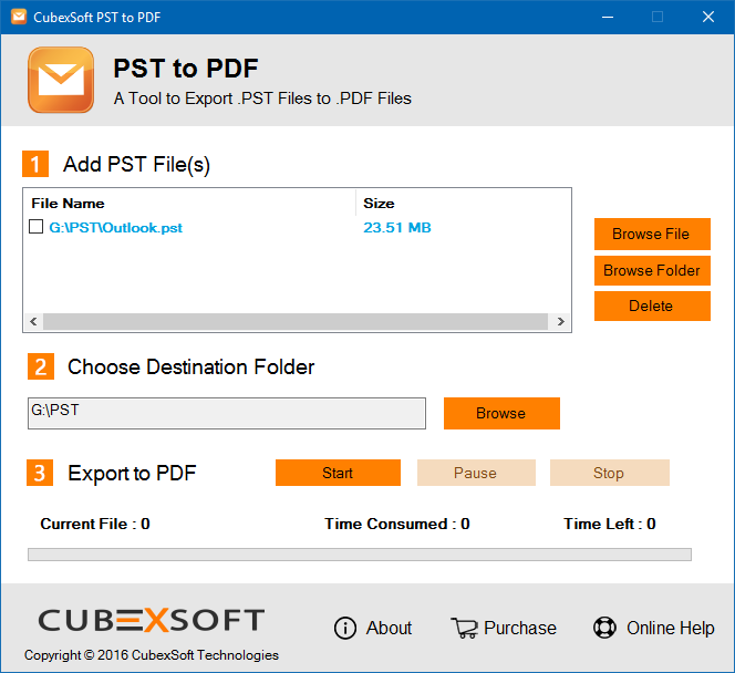 Export Emails from Outlook 2010 to PDF