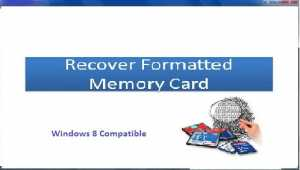 Recover Formatted Memory Card