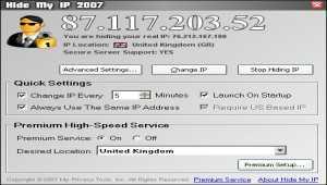 Hide My IP 2007