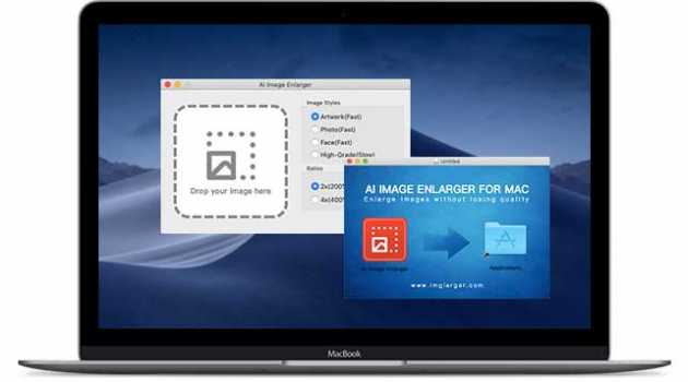 AI Image Enlarger for Mac