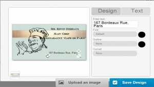 Business Card Designer Software