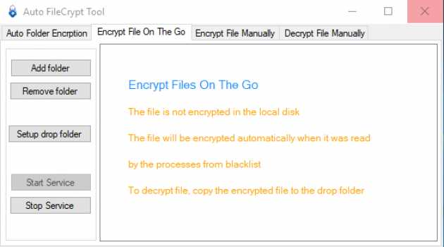 EaseFilter File Encryption On The Go SDK