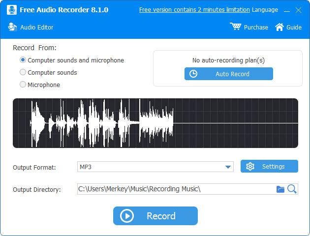 Free Audio Recorder