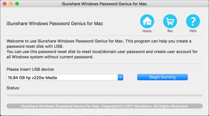 iSunshare Password Genius for Mac