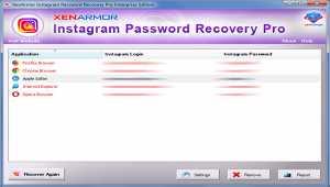 XenArmor Instagram Password Recovery Pro