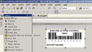 EaseSoft Barcode ActiveX Control