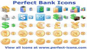 Perfect Bank Icons