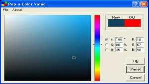 Pop-a-Color Value