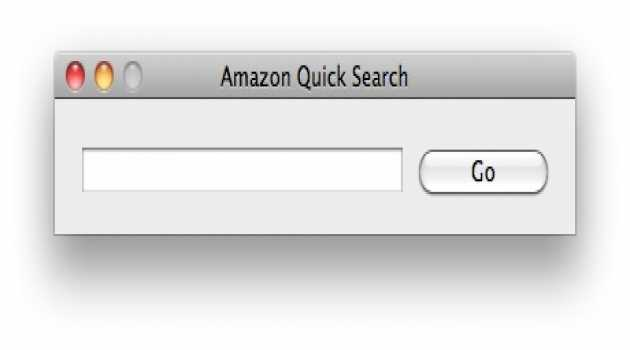 Amazon Quick Search