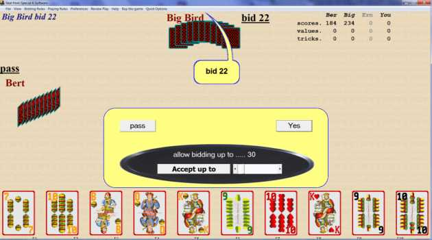 SKAT Card Game From Special K Software