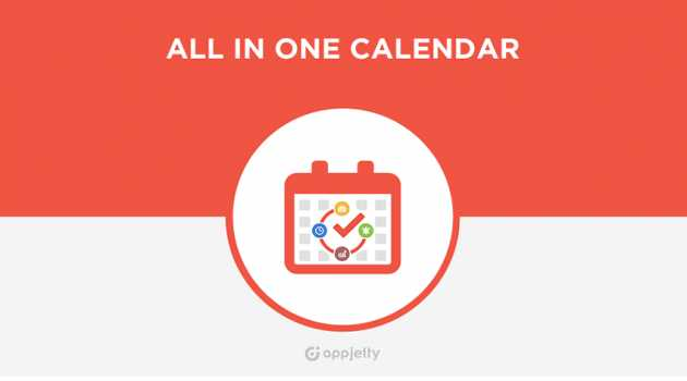 Dynamics CRM All In One Calendar