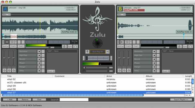 Zulu DJ Software Free for Mac