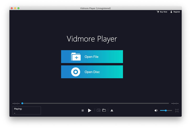 Vidmore Player for Mac