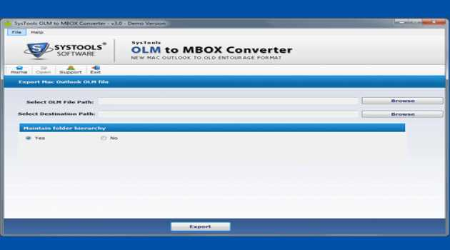 Outlook OLM to MBOX Conversion