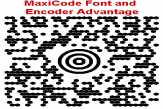 MaxiCode Font and Encoder Suite