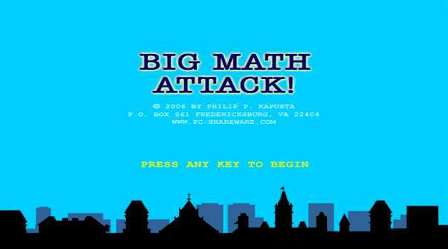 Big Math Attack