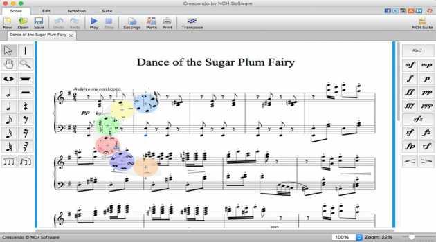 Crescendo Music Notation Free for Mac