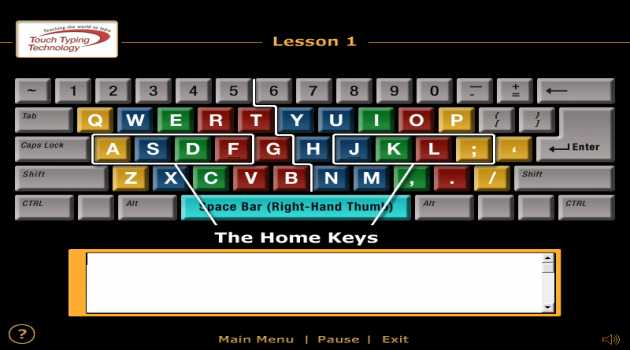 Touch Typing Technology course