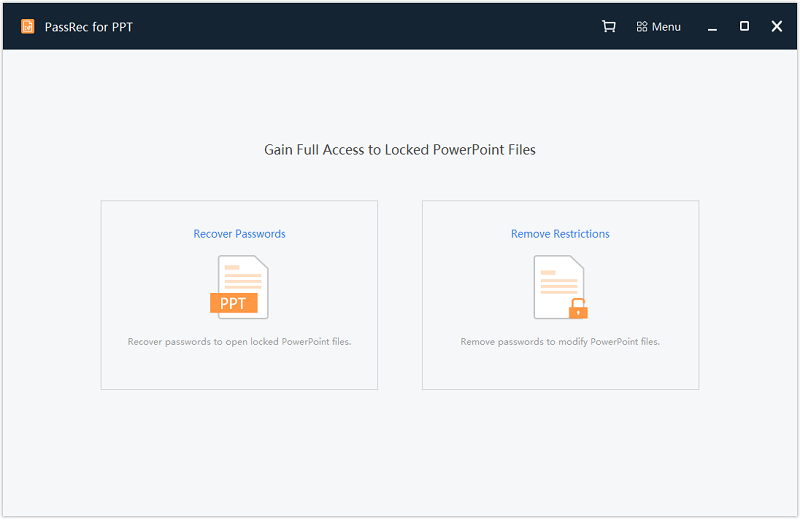 PassRec PPT Password Recovery