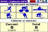 Calorie GPS