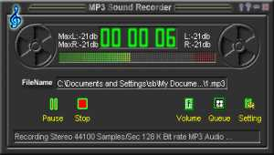 Power Mp3 Recorder(MP3 Sound Recorder)