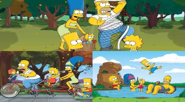 The Simpsons Animated Wallpaper