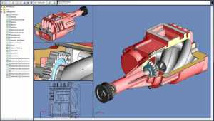 SolidFace 3D CAD PTV