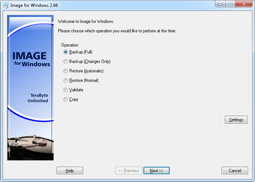 TeraByte Drive Image Backup and Restore
