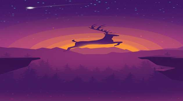 Deer : Nature Live Wallpaper