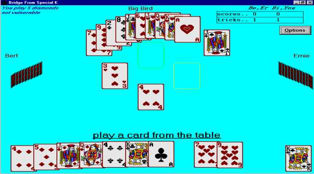 BRIDGE Card Game From Special K