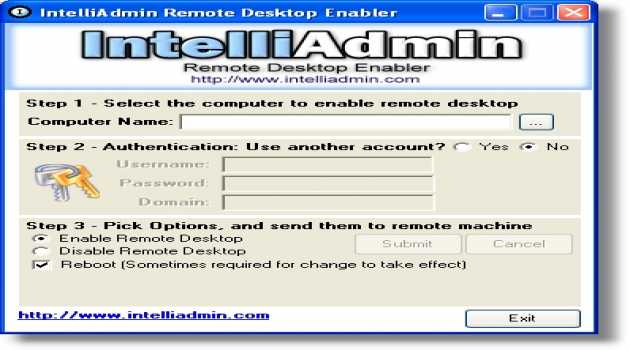 Remote Desktop Enabler