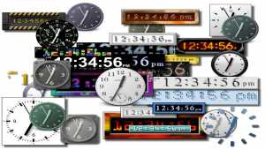 AMC The Ultimate Screen Clock