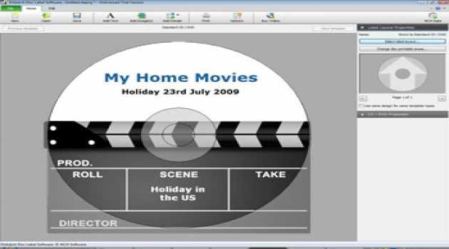 Disketch Professional CD Label Software
