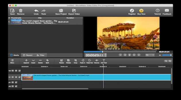 MovieMator Video Editor Mac