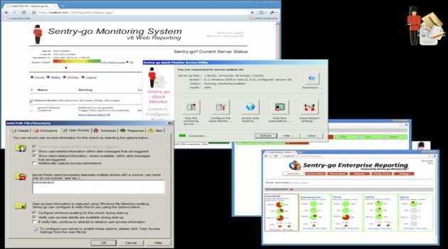 Sentry-go Quick File Monitor