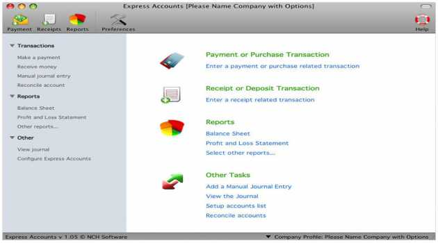 Express Accounts Accounting Software for Mac