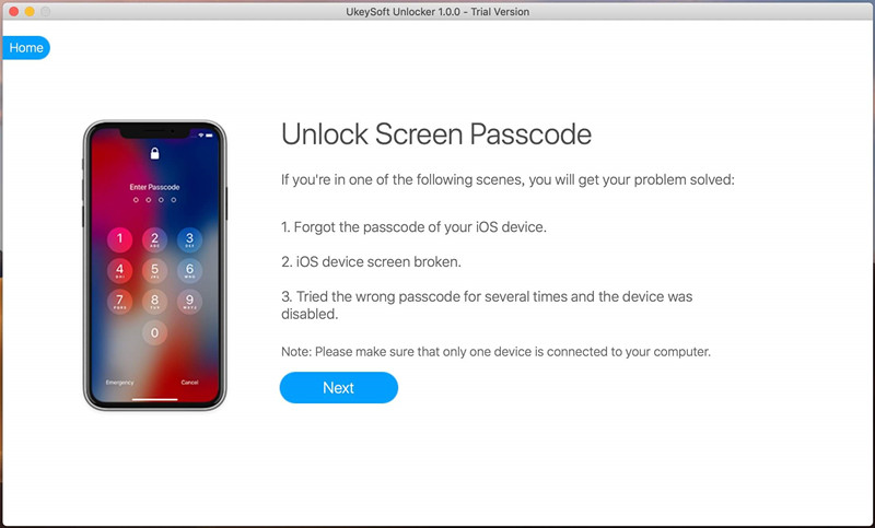 UkeySoft Unlocker for Mac