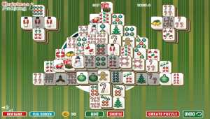 Christmas Tree Mahjong
