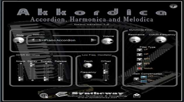 Akkordica Virtual Accordion VSTi