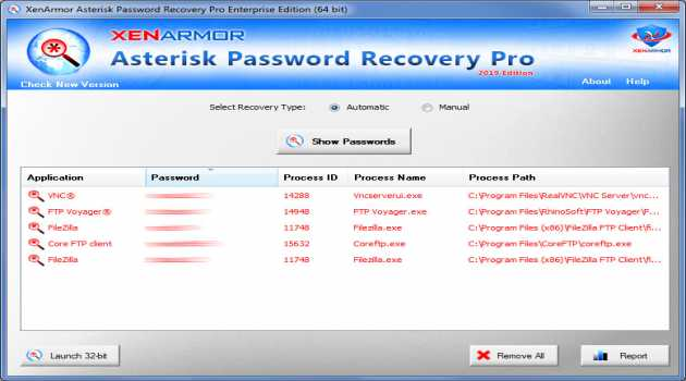 Asterisk Password Recovery Pro 2020