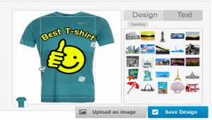 Online T­-Shirt Designer Software
