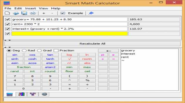 Smart Math Calculator for Mac