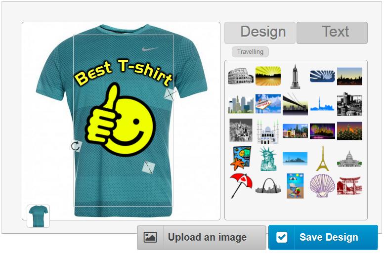 Online T-Shirt Designer Software