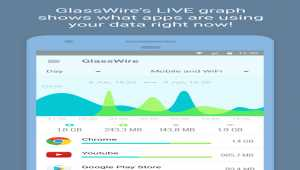 GlassWire Data Usage Monitor